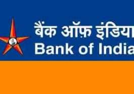 Bank of India job vacancy