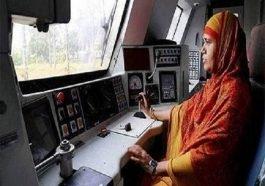 पहली महिला ट्रेन ड्राइवर