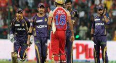 IPL T20 news Gautam Gambhir and Virat Kohli fight