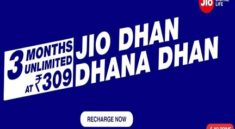 Reliance Jio Dhan Dhana Dhan offers