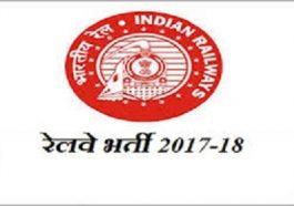 रेलवे भर्ती 2017 लागू ऑनलाइन