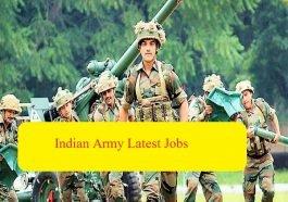 इंडियन आर्मी वचनस्य 2019,(Indian Army latest job bharti)