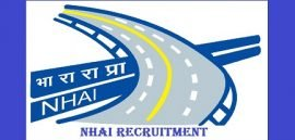 NHAI Recruitment 2019, NHAI भर्ती 2019 @nhai.gov.in