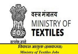 Ministry of Textiles Jobs 2019